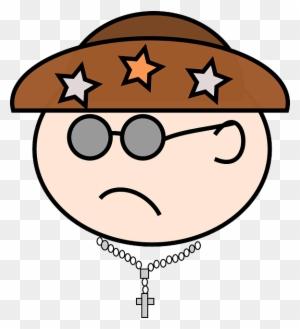 Man Person Face Sad Cangaceiro Cartoon Free Transparent Png