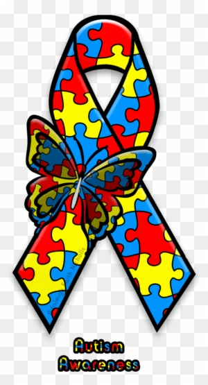 Autism Awareness Ribbon By Adaleighfaith Zazzle Autismus Bewusstsein Tough Iphone 6 Plus Hulle Free Transparent Png Clipart Images Download