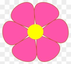 Single Flower Clipart Flower Blossom Petals Free Vector Flower