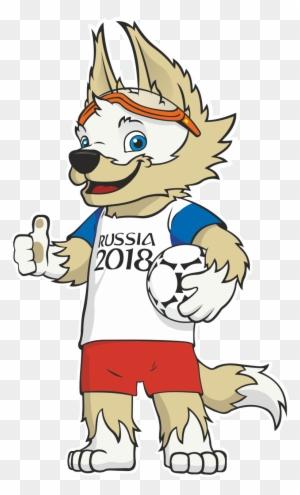 Mascote Da Copa 2018 Free Transparent Png Clipart Images Download