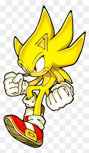 It Is This Really Fat Version Of Sonic That Is Kinda Super Sonic The Hedgehog 2d Free Transparent Png Clipart Images Download