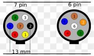 Round 7 Pin Trailer Plug Wiring Diagram, 5 Pin Trailer Plug Wiring Diagram Australia