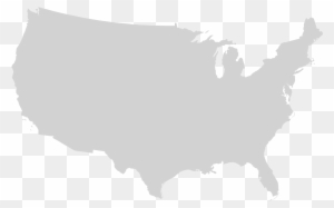 United States Map Svg.Png Usa Outline File Blank Us Map Mainland With No United States