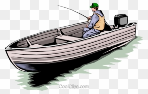 Download Fisherman In Boat Royalty Free Vector Clip Art Illustration Fishing Boat Free Transparent Png Clipart Images Download