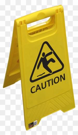 edge yellow caution sign - 300×515