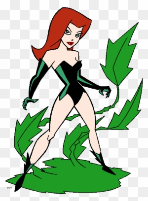 Poison Ivy Batman Clipart Poison Ivy Coloring Pages Free