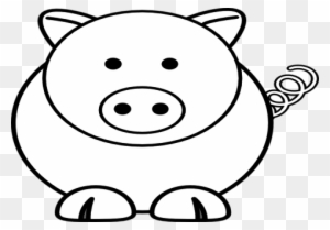 Cartoon Sheep Pig Clip Art At Vector Online Easy Pig Face Drawing