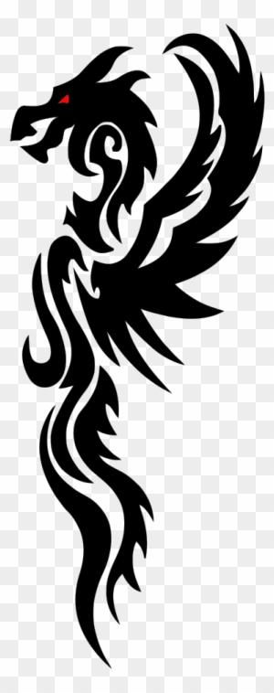 Tribal Dragon Animal Free Black White Clipart Images Long Tribal