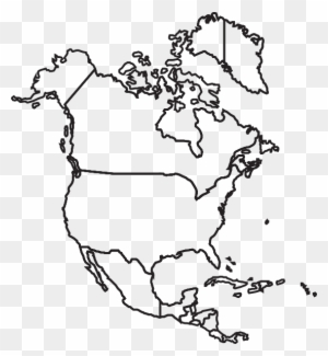 America Map Drawing.North America Map Clip Art At Clker North America Map Drawing