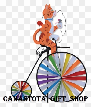 Catalog For High Wheel Bicycle Wind Spinners Featured Premier Frog Spinner