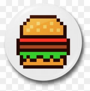 Minecraft Hamburger French Fries Pixel Art Drawing French Fries