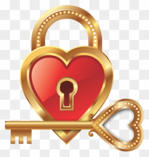 heart lock and heart key clipart heart padlock and key