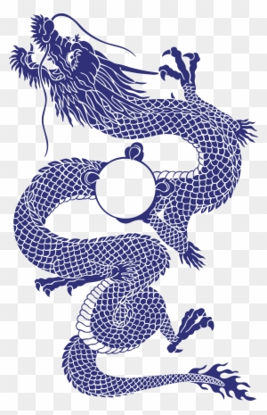 Chinese Dragon Outline Free Download Clip Art Free