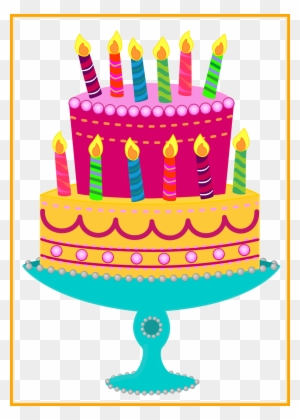 Happy Birthday Cake Clipart Transparent Png Clipart Images Free