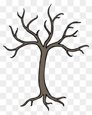Tree With Branches Drawing Free Transparent Png Clipart Images