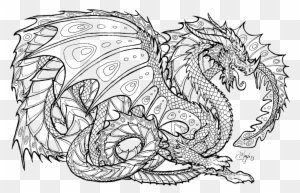 Unusual Dragon Images To Color Realistic Coloring Pages ...