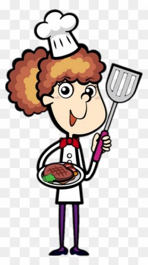 Chef Cuisinière Femme Dessin Free Transparent Png Clipart Images