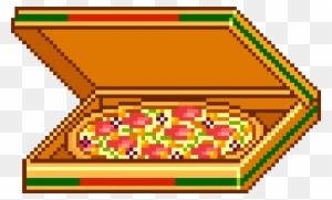 Pizza Box Pixel Art