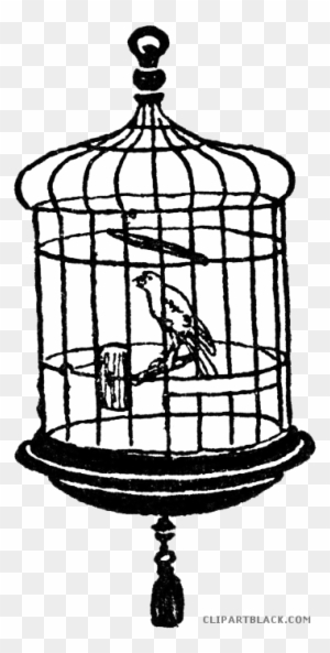 Birdcage Clipart Animal Cage Bird In Cage Clipart Free Transparent Png Clipart Images Download