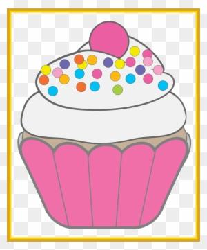 Cupcake Icing Birthday Cake Muffin Clip Art Cupcake Vintage Vector