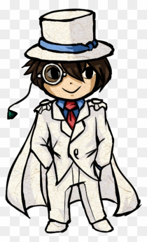 Kaitou Kid 1412 Chibi Case Closed Free Transparent Png Clipart Images Download