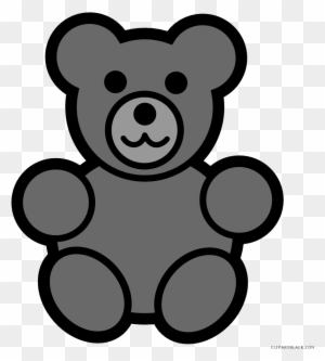 Bear Clip Art Black And White Teddy Giant Panda Counting Bears Coloring Page Free Transparent Png Clipart Images Download