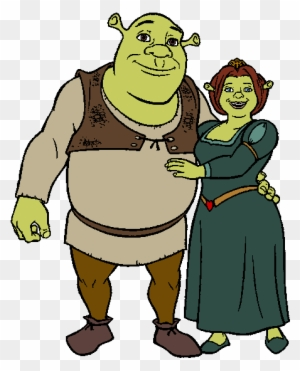 When Did Fiona Realized That Shrek Was Her True Love Shrek And Fiona Cartoon Free Transparent Png Clipart Images Download