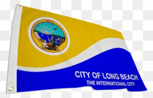 Long Beach City Flag City Of Long Beach Seal Free Transparent Png Clipart Images Download