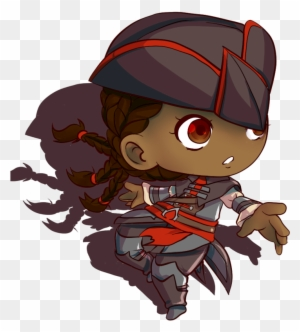 Fan Art Assassin S Creed Aveline Chibi By Aude Assassins Creed Chibi Png Free Transparent Png Clipart Images