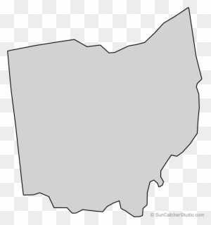 black outline of ohio free transparent png clipart images download