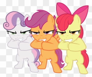 Pony Cutie Mark Crusaders Applejack Scootaloo Angry Cutie Mark Crusaders Free Transparent Png Clipart Images Download The u/scootaloo04 community on reddit. pony cutie mark crusaders applejack