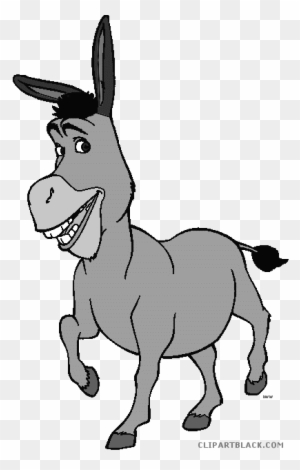 Donkey Animal Free Black White Clipart Images Clipartblack Donkey From Shrek Clipart Free Transparent Png Clipart Images Download