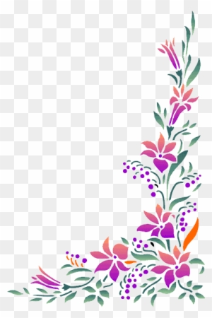 Sunflower Page Border Download Gladiolus Flower Clip Art