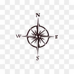 Vremennaya Tatu Kompas Simple Compass Rose Tattoo Free
