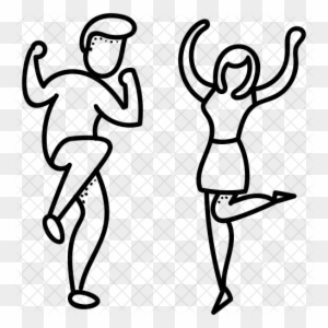 Dance Clipart Black And White Transparent Png Clipart Images Free Download Clipartmax