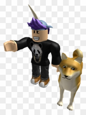 Doge Attack Roblox Attack Doge Roblox Character With Dog Free Transparent Png Clipart Images Download
