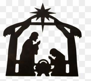 Main, Dessiné, Crèche Noël   Vecteur Gratuite