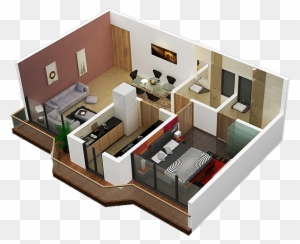 online house design in d and d with construccin 3d flat 3 bedroom rh clipartmax com three room hotel orlando three room house in roblox bloxburg