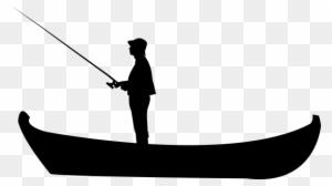 Download Fishing Boat Svg Fisherman Png Free Transparent Png Clipart Images Download