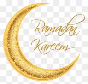 رمضان كريم مبارك القمر الذهبي مثلا حر Png و سهم التوجيه Ramadan Kareem Transparent Background Free Transparent Png Clipart Images Download