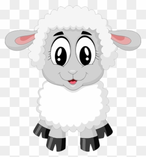 Cordero Ovejas Lindo Granja Animales Bebé Cartoon Lamb Free Transparent Png Clipart Images Download