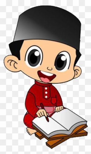 Muslim Cartoon Child Illustration Gambar Kartun Anak Muslim Free Transparent Png Clipart Images Download