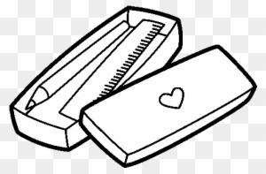 Pencil Sharpener Clipart - Pencil Case Coloring Pages ...