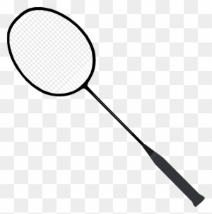 Badminton Racquet And Birdie Tennis Racket Clip Art Free