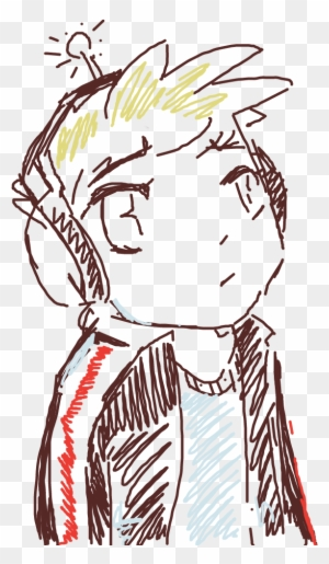 Forum Draw A Geek Anime With Headphones Illustration Free