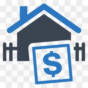 Image result for house dollar sign icon blue