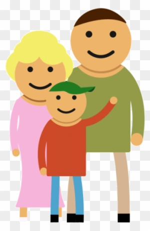 Cartoon Pictures Of Family Happy Family Animated Gif Free Transparent Png Clipart Images Download