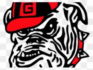 Georgia Bulldog Head Logo Psd Vector Graphics Georgia Bulldogs