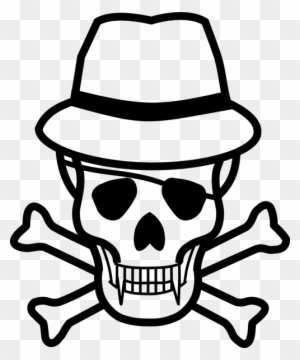 Danger Poison High Voltage Death Skull Jolly Roger Skull And
