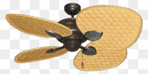 Palm Woven Bamboo Blade Ceiling Fans